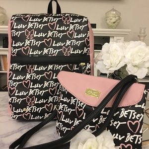 🆕 2 for 1 Luv Betsey  Lexie Backpack